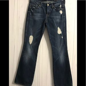 For all 7 mankind A'Pocket Womens Jeans Sz. (26)